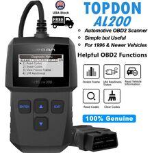 TOPDON OBDCAN AL200 Automotive Car OBD2 EOBD Diagnostic Scanner Tool Code Reader
