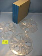 3 Stück 8 mm Film.Leerspulen in Filmdose  Stocko für 180 Meter C.63.Film Reels