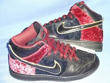 Nike SB High Dunk Bloody Sunday 10 Authentic Tweed Pushead Money Cat Pigeon Used