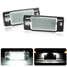 For Vauxhall Opel Vectra C MK2 Estate LED License Number Plate Lights Lamp