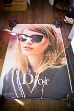 DIOR SUNGLASSES RARE 4x6 ft Bus Shelter Original Fashion Advertising Poster 2016