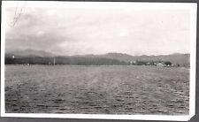 VINTAGE 1928 HARBOR VIEW CHEFOO HONG KONG SHANGHAI CHINA PHILIPPINES OLD PHOTO