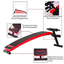 Sit Up Utility Bench Incline Decline Arc Shape Curved Strength Training Exercise