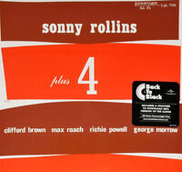 Sonny Rollins ‎– Plus 4 Vinyl LP Original Jazz Classics 2014 NEW/SEALED 180gm