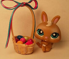 1:12 Dollhouse Miniature Easter Eggs in Basket//Miniature Easter BD H090