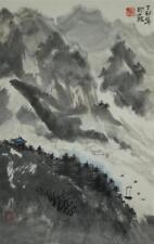 Japanisches Rollbild Kakemono Landschaft Japan Roll-Up Geschenk Asia 4330
