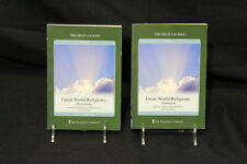 """Great World Religions"" HINDUISM & CHRISTIANITY Set, DVD's & Guidebooks, 2003"