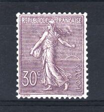 "FRANCE  STAMP TIMBRE N° 133 "" SEMEUSE LIGNEE 30c LILAS 1903 "" NEUF xx TTB  R939"