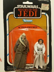 Vintage Star Wars ROTJ Action Figure 2-Pack - Bib Fortuna & Princess Leia! RARE!