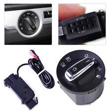 Auto Headlight Sensor +Chrome Switch for Golf Jetta MK5 MK6 GTI 5 6 Passat B6 B7