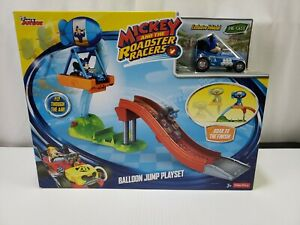 Fisher Price:⭐ Disney's Mickey And the Roadster Racers ⭐Ballon Jump Playset ~NEW