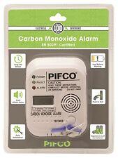 PIFCO Digital Display Carbon Monoxide Alarm CO Detector - 7 Year Life EN 50291 ✔