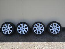 Ford Fiesta 15 Zoll Alufelgen mit Sommerreifen 195/50