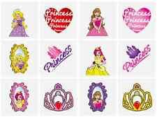12 x bambine Principessa Tatuaggi Temporanei Trasferimenti Giochi N51 041