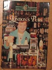 English Advertising Booklet London Pub Welcome Britain Brewer Beer Brewing Map