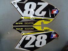 Suzuki RMZ250 2007-2009 Ryan Dungey team issue black no.28 backgrounds RM1669