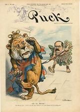 British Lion  -  Rudyard Kipling - Criticism -   Political   -   Politics - 1902