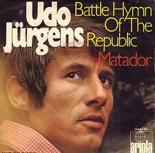 "UDO JÜRGENS – Battle Hymn Of The Republic (1969 SINGLE 7"" ENGLISH SUNG)"
