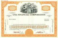 CNA Financial Corporation - Stock Certificate