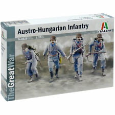 ITALERI WWI Austrian Hungarian Infantry 6528 militaire 1:35 Modèle Kit