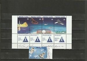 a139 - MARSHALL ISL - SG199-203 MNH 1988 SPACE SHUTTLE TRACKING STATION