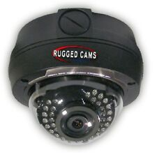 Rugged Cams Weatherproof OutdoorInfrared Security Dome Camera - Analog 960H