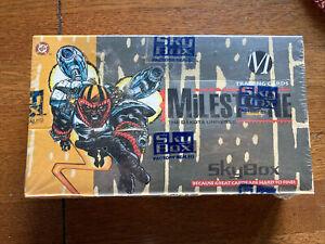 1993 Skybox Milestone The Dakota Universe Factory Sealed Box 36 Unopened Packs