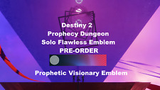 Prophecy Solo Flawless Guaranteed —[ PS4 ]