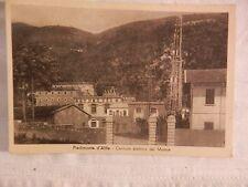 Vecchia foto cartolina d epoca di Piedimonte d Alife centrale elettrica da per