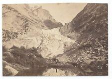 D008 Photographie vintage original Suisse 1873 Albuminé Albumen