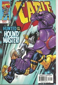 °CABLE #71 HUNTED BY THE HOUND MASTER!° US Marvel 1999 Poster Inkl. Rob Liefeld