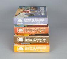 Set of 4 Sensation Toy vintage Mutex Hungary educational game