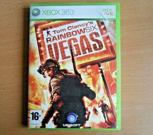 Tom Clancy's Rainbow Six Vegas - For Xbox 360 - Game & Case