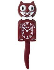 Burgundy Limited Edition Kit-Cat Klock (15.5″ high)