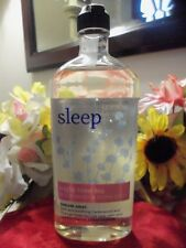 NWT Bath & Body Aromatherapy Sleep Night Time Tea Body Wash & Foam Bath 10 oz.