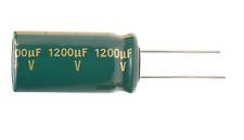 5 Pcs Sanyo Capacitor Al 1200uf 1200mf 10v Radial Replacing For 63v