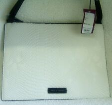 Pied A Terre White & Black Snake Skin Shoulder Bag /Pouch RRP £30 -NWT