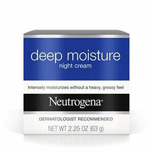 Neutrogena Deep Moisture Night, 2.25 Ounce