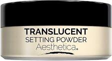 Aesthetica Translucent Loose Setting Powder - Talc Free Finishing Powder