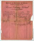 """SAINT-JEAN-des-OLLIERES (63) RUBANS & ARTICLES de BLANC """"CALAMY & LEBARD"""" en1895"""