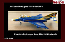 Herpa McDonnell Douglas F-4F Phantom II Luftwaffe Phantom Pharewell Wittmund AB