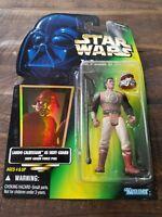 Lando Skiff Guard Action Figure Hologram Green Card Star Wars  Hasbro 1996