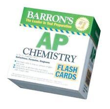 Barron's Ap Chemistry Flash Cards 2008 Test Prep Homeschool Teaching Tool Review