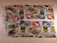 Charlie Brown Snoopy in Boxes Fleece Scarf