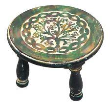Govinda® - Round Tree of Life Altar Table 6 Inch Diameter