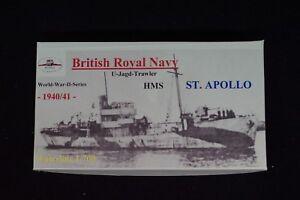 HP Models 1:700 Waterline  - brit. U-Jagd-Trawler  HMS   St. Apollo  -1940/41-