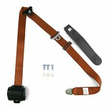 3pt Copper Retractable Seatbelt Standard Buckle - Each harness Stbsb3Rsco rat