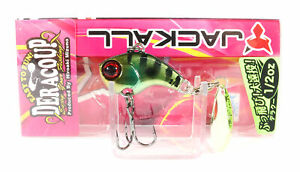 Jackall Deracoup 1/2 oz Spin Tail Sinking Lure HL Gold Gill (3014)