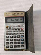 Vintage Sharp El-512 Scientific Calculator in Case - Working