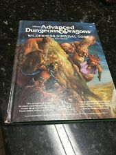 AD&D Wilderness Survival Guide 1986 dungeons & dragons TSR